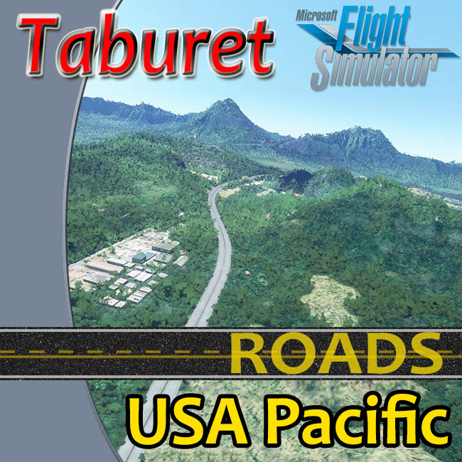 Taburet – USA Pacific Roads For MSFS 2020
