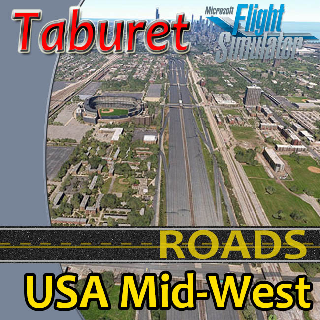 Taburet – USA Mid-West Roads For MSFS 2020