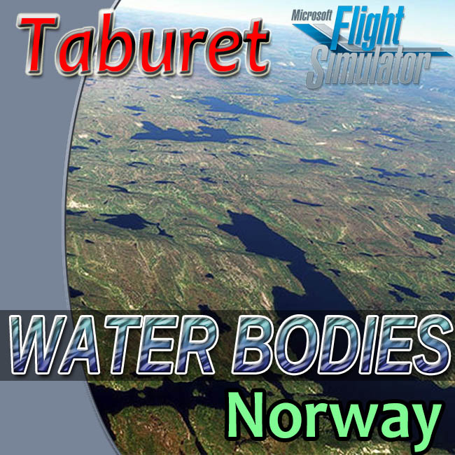 Taburet – Norway Water Bodies For MSFS 2020