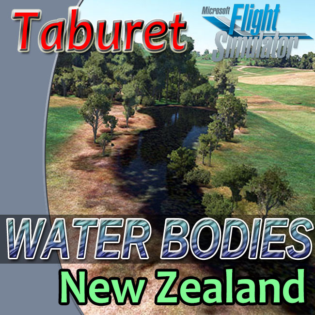 Taburet – New Zealand Water Bodies For MSFS 2020