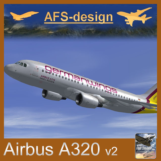 AFS Design – Airbus A320 Family v2 for FS2004