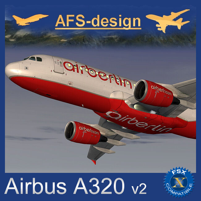 AFS Design – Airbus A320 Family v2 for FSX