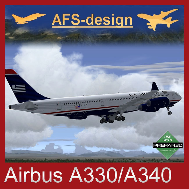 AFS Design – Airbus A330 for P3D