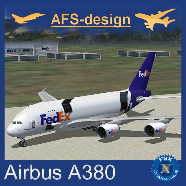 AFS Design – Airbus A380 v3 for FSX