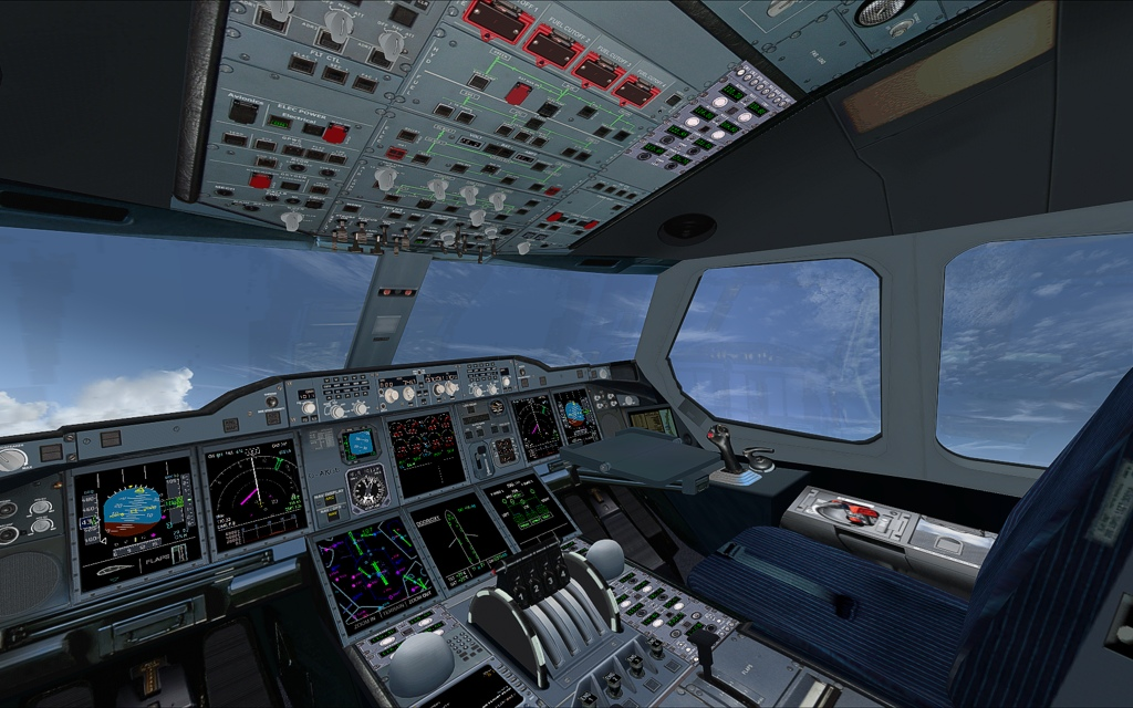 AFS Design - Airbus A380 v3 for FSX