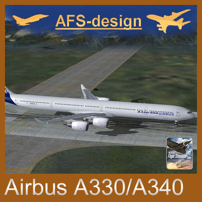 AFS Design – Airbus A330/A340 v3 for FS2004