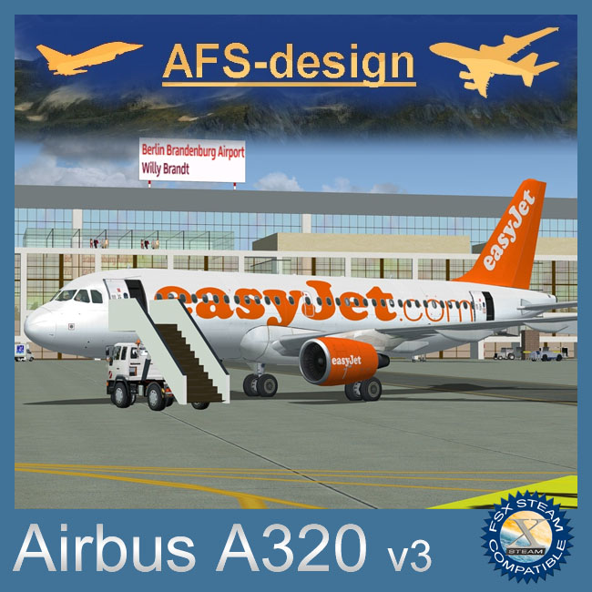 AFS Design – Airbus A320 Family v3 for FSX Steam