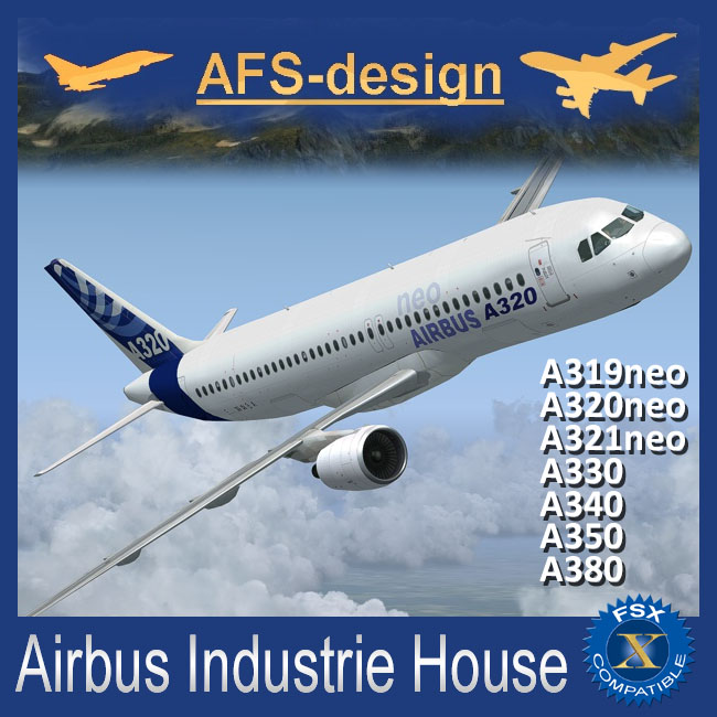 AFS Design – Airbus Industrie House for FSX