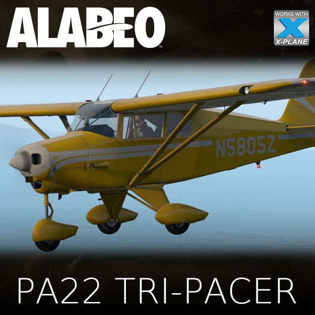 Alabeo - PA22 Tri Pacer for X-Plane