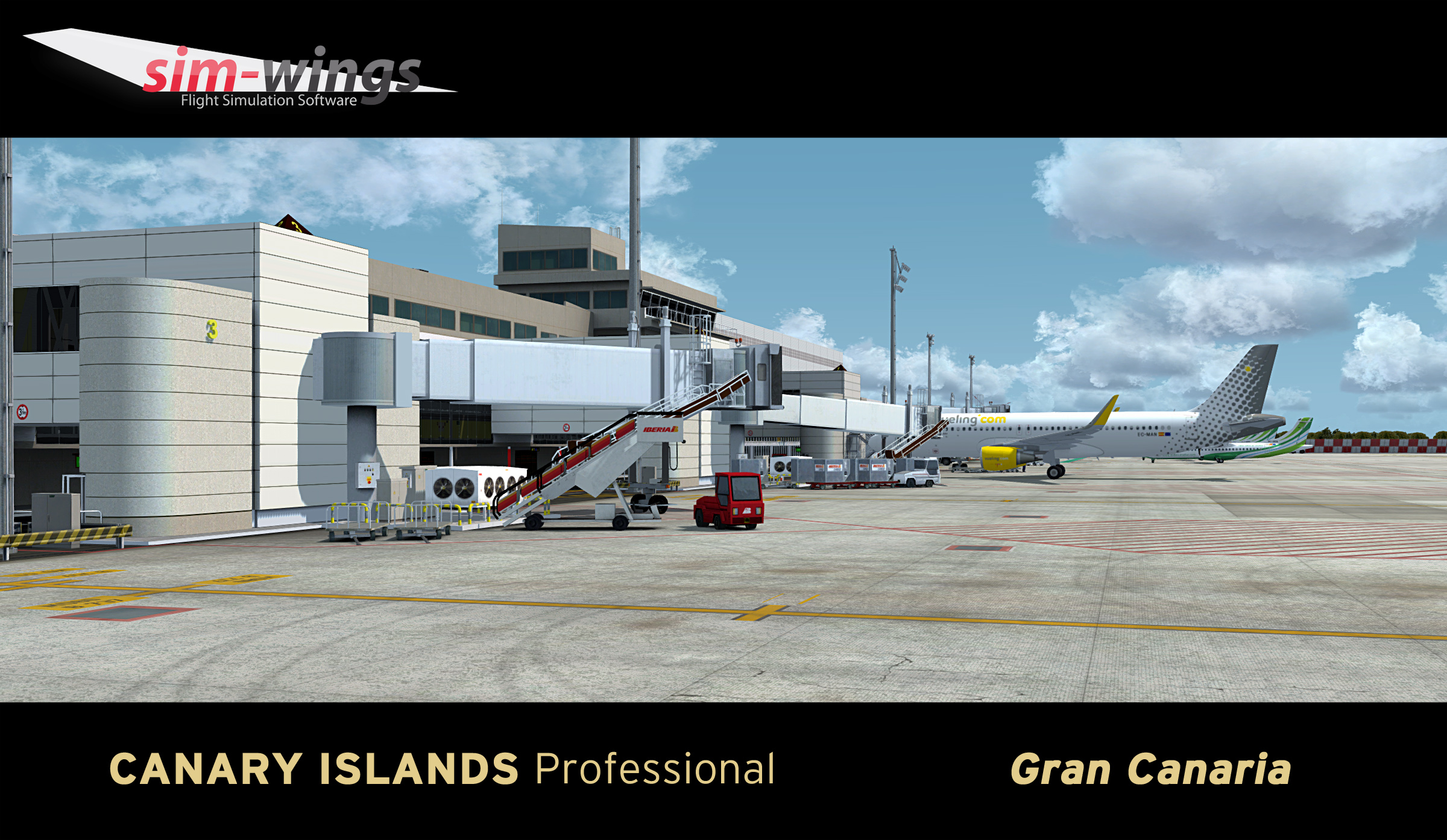 Sim-Wings - Canary Islands professional - Gran Canaria for P3Dv4