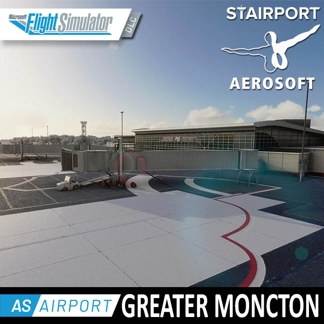 Aerosoft – Airport Greater Moncton for MSFS