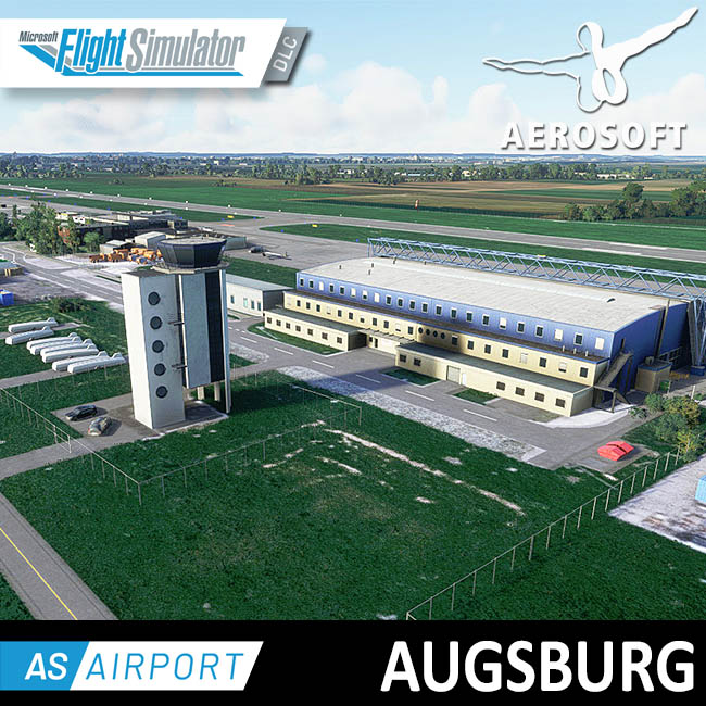 Aerosoft – Airport Augsburg for MSFS