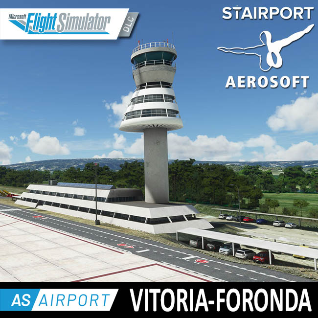 Aerosoft – Airport Vitoria-Foronda for MSFS