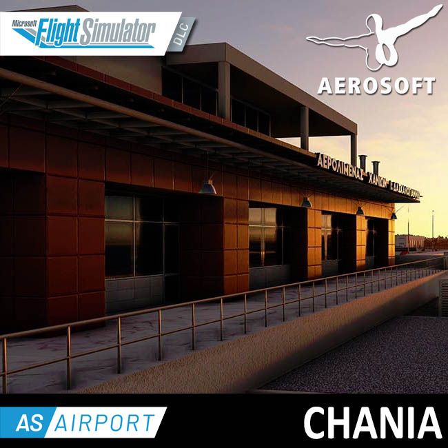 Aerosoft – Airport Chania for MSFS
