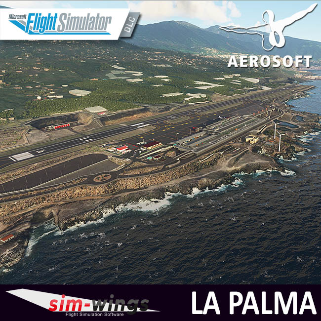 Aerosoft – Sim-wings La Palma for MSFS