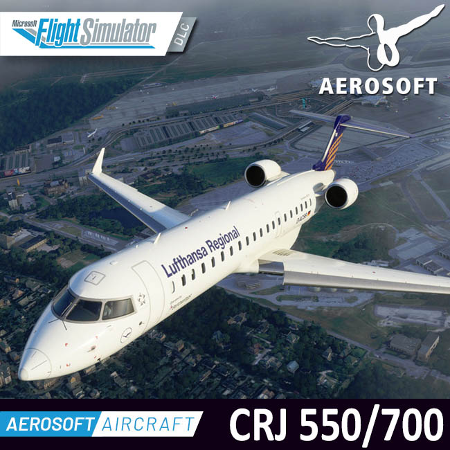 Aerosoft – Aircraft CRJ 550/700 for MSFS