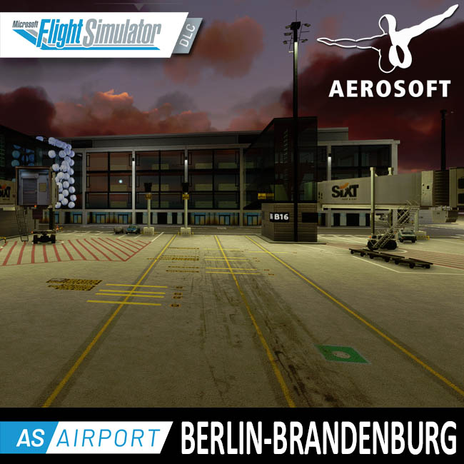 Aerosoft – Airport Berlin Brandenburg for MSFS