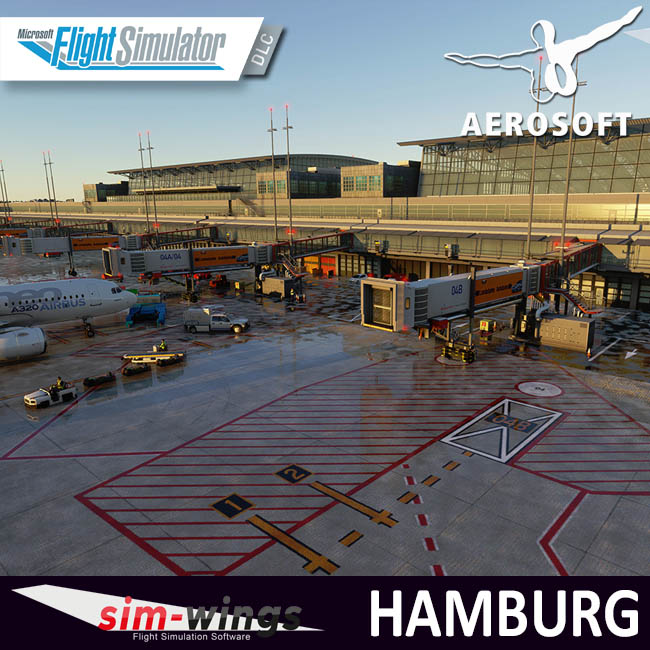 Aerosoft – Sim-wings – Airport Hamburg for MSFS