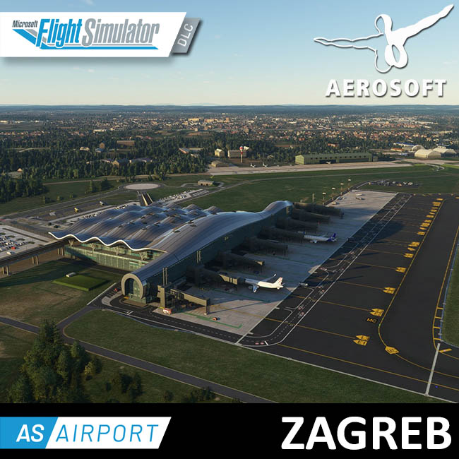 Aerosoft – Airport Zagreb for MSFS