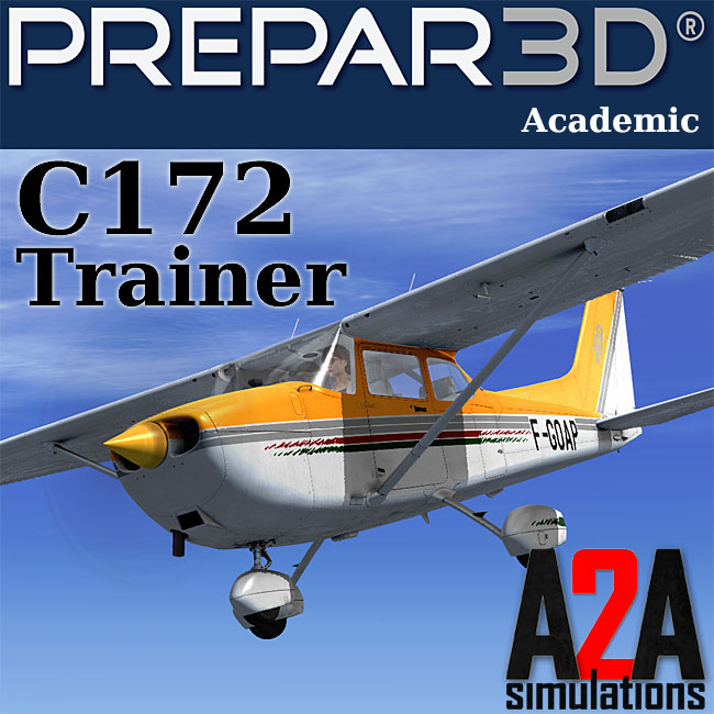A2A Simulations – Accu-Sim C172 Trainer For P3D Academic