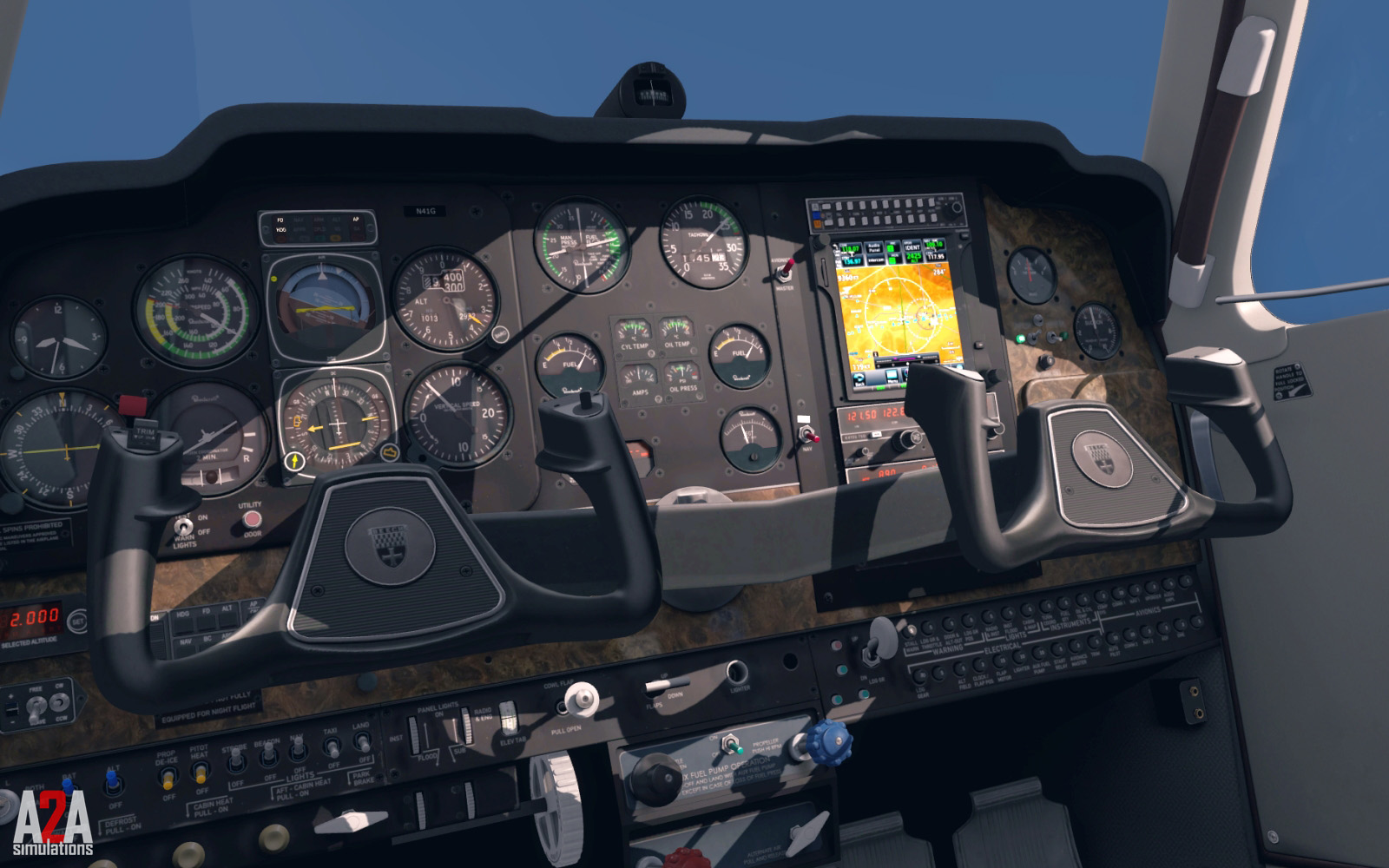 A2A Simulations - Accu-Sim Bonanza for FSX and P3D v4 Professional