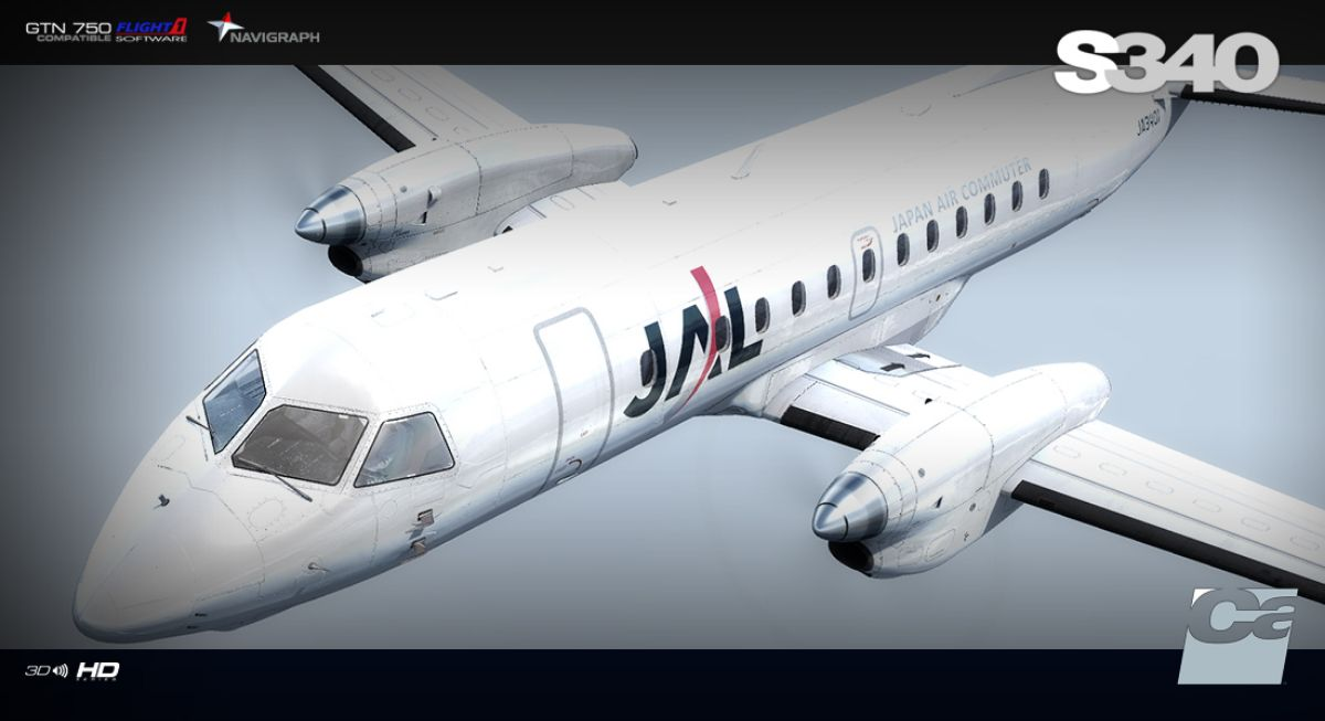 Carenado - Saab S340 for FSX and P3D