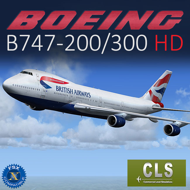 CLS - Boeing B747-200/300 HD for FSX