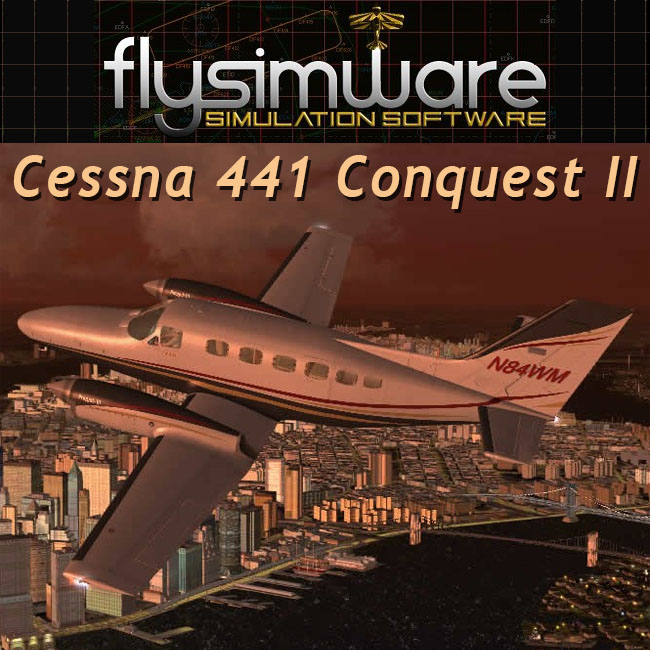 Flysimware – Cessna 441 Conquest II for FSX & P3D