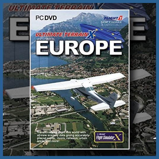 Flight1 - Ultimate Terrain X Europe v2 for FSX and P3D