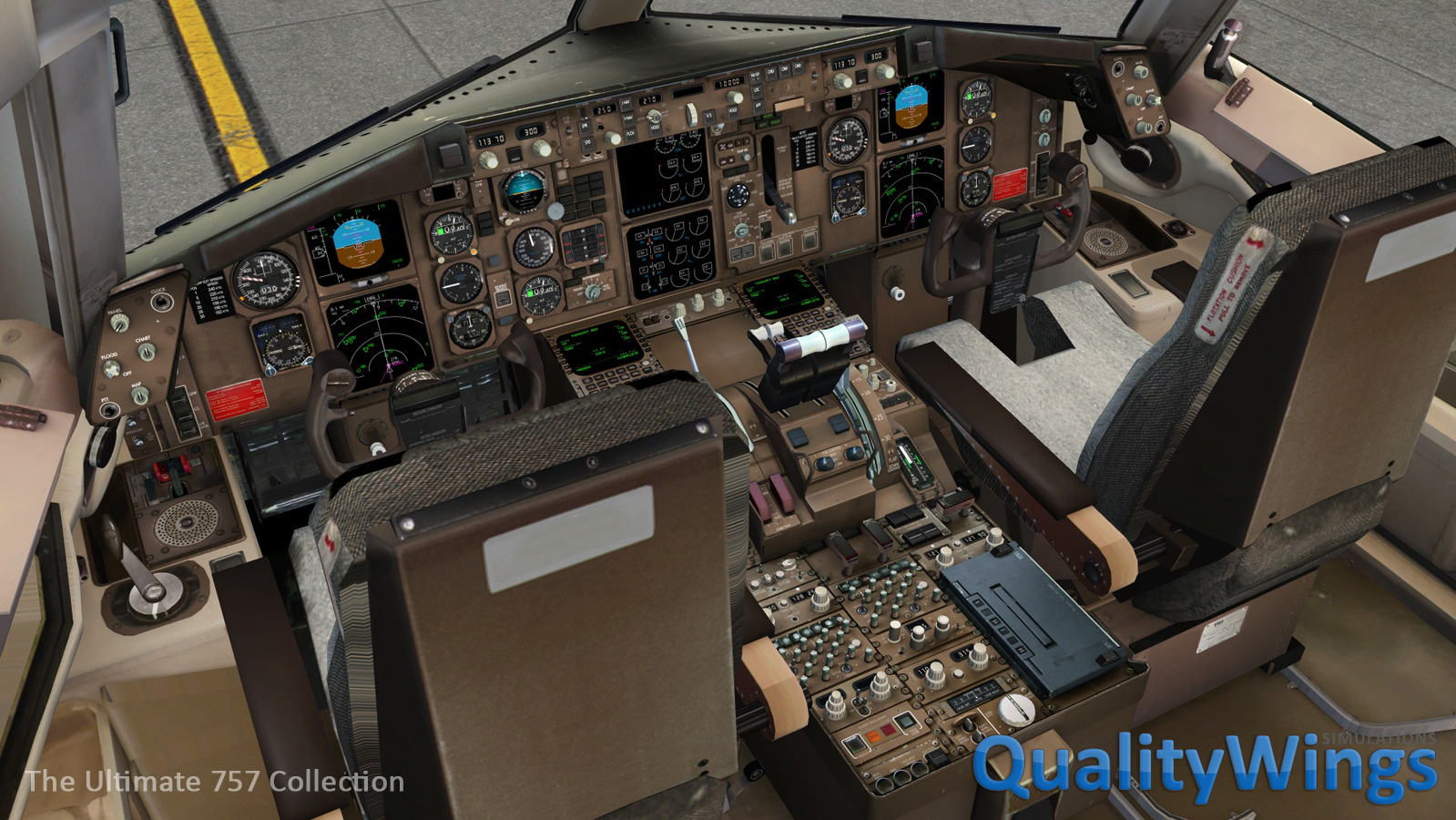Flight1 - QualityWings Ultimate 757 Collection for FSX