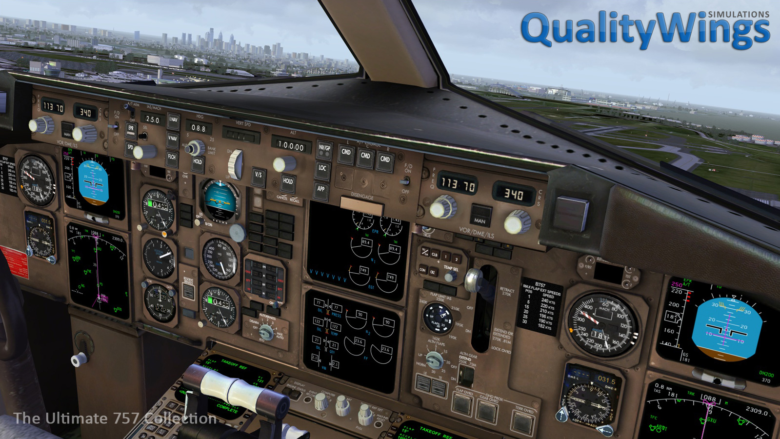 Flight1 - QualityWings Ultimate 757 Collection for P3Dv4