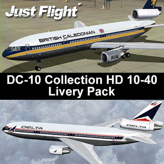 Just Flight - DC-10 Collection HD Livery pack