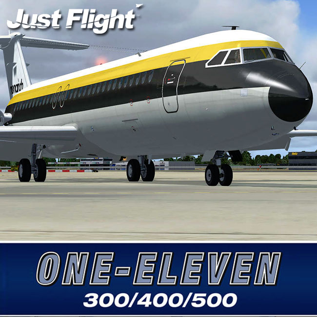 Just Flight – One-Eleven 300, 400, 500 for FSX & P3D