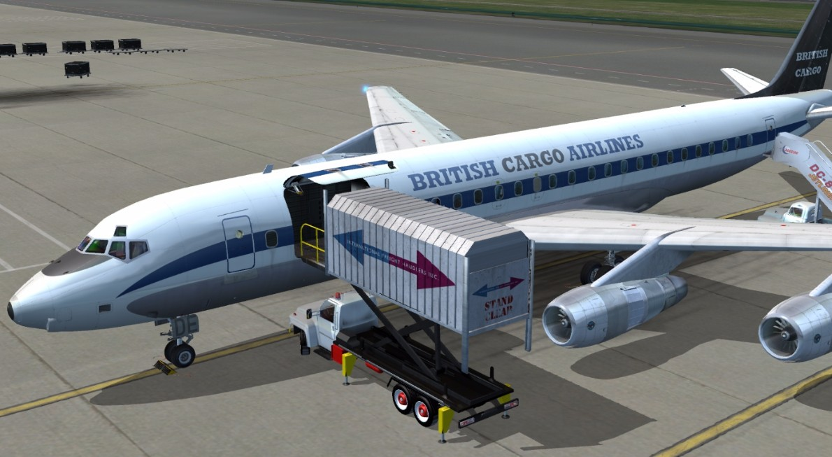 Just Flight - DC-8 50 to 70 Livery Pack 2 for FSX & P3D