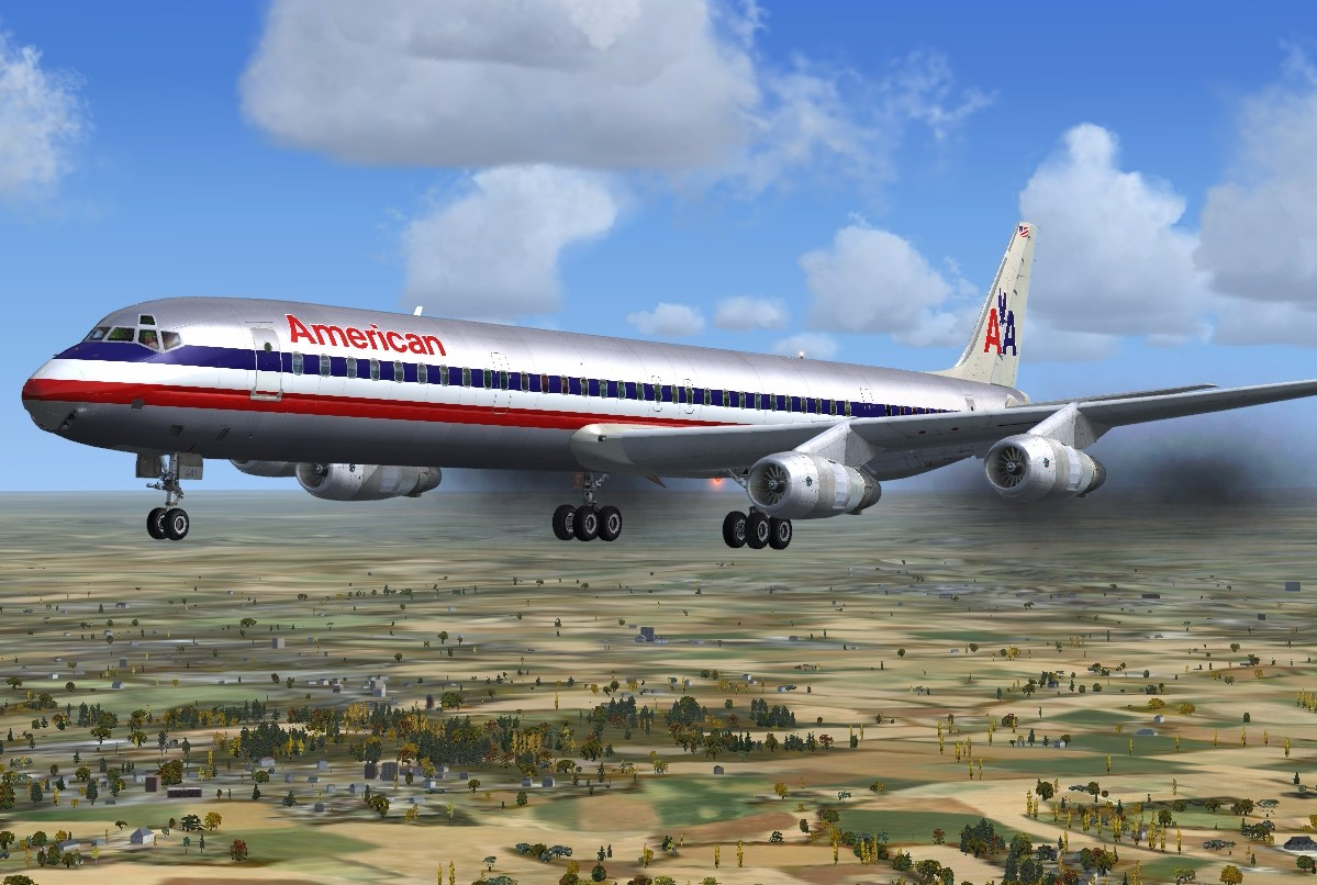 Just Flight - DC-8 50 to 70 What If Livery Pack for FSX & P3D