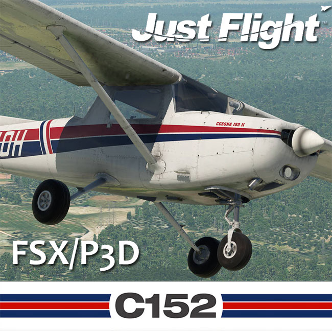 Just Flight – Cessna C152 for FSX and P3D