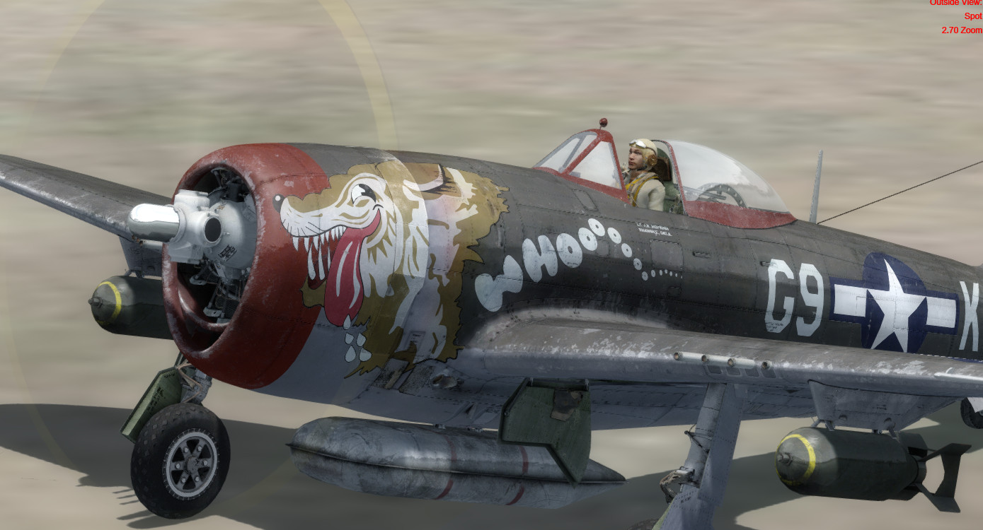 Just Flight - P-47 Thunderbolt for FSX and P3D