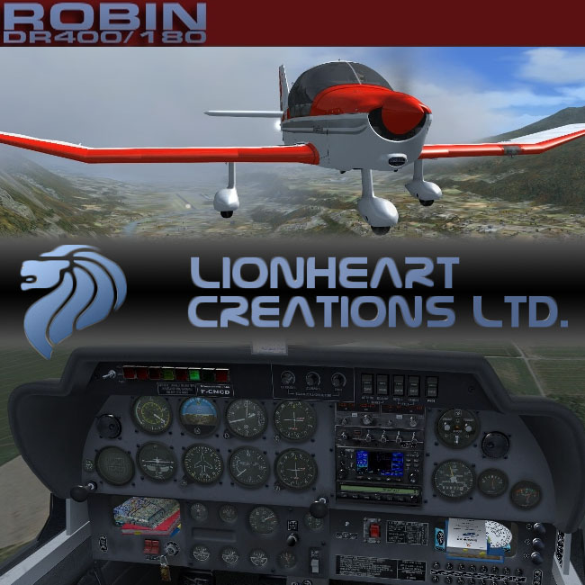 Lionheart Creations – French Robin DR400 for FSX and P3D