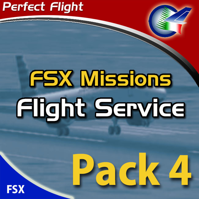 Perfect Flight – Flight Service Pack 4 For FSX and FS2004