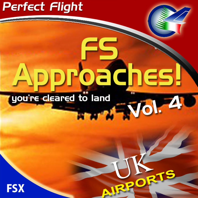 Perfect Flight – FS Approaches Vol. 4: UK Airports For FSX
