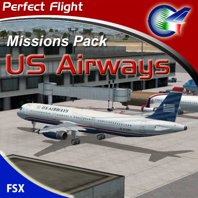 Perfect Flight – US Airways Missions Pack For FSX