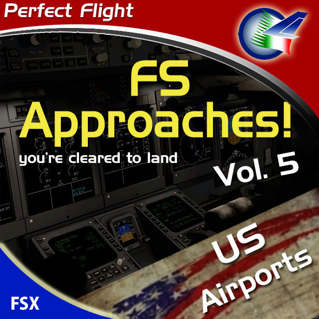 Perfect Flight – FS Approaches Vol. 5 US Airports For FSX