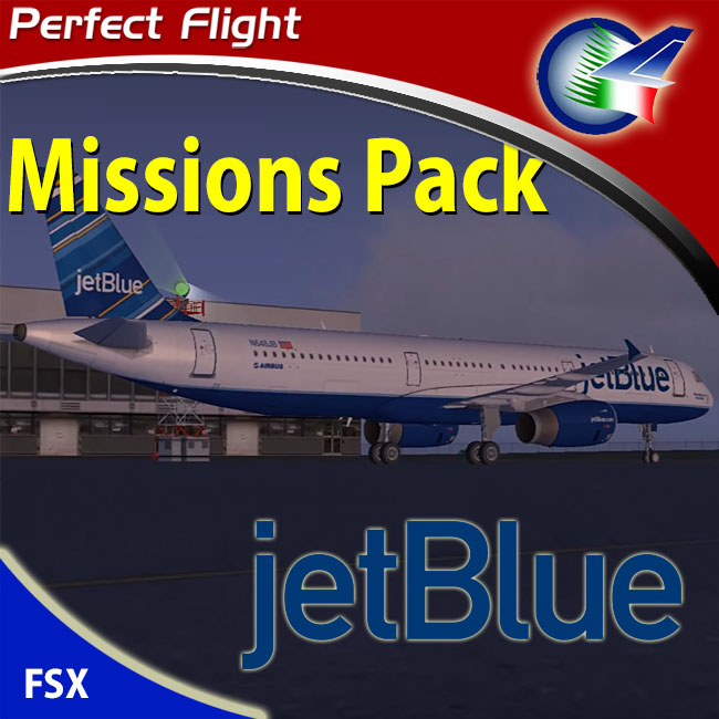 Perfect Flight – JetBlue Airways Mission Pack for FSX