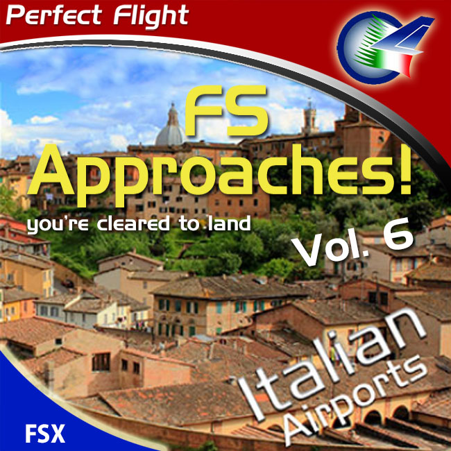 Perfect Flight – FS Approaches Vol 6 Italian Airports For FSX