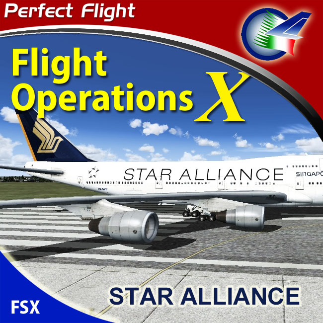 Perfect Flight – Flight Operation X Star Alliance for FSX