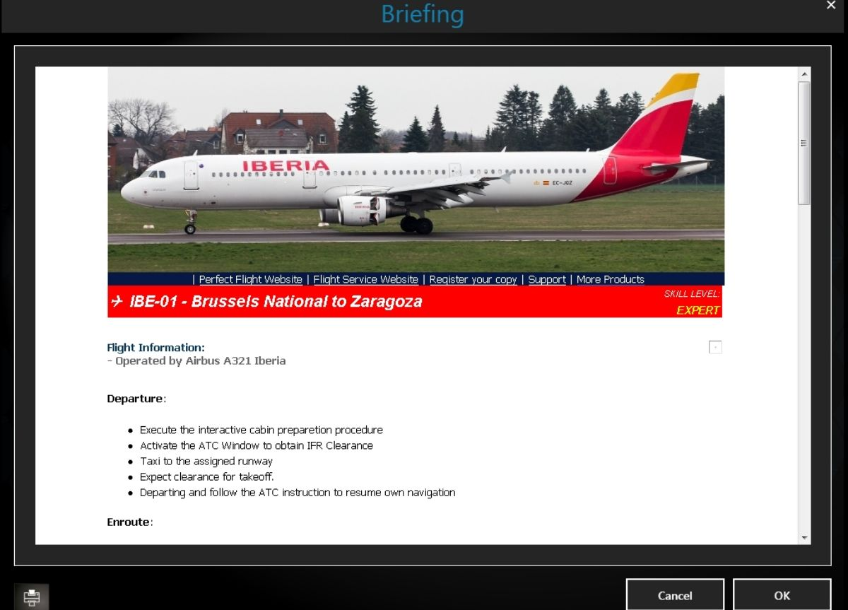 Perfect Flight - FSX Missions Iberia A321 for FSX and P3D