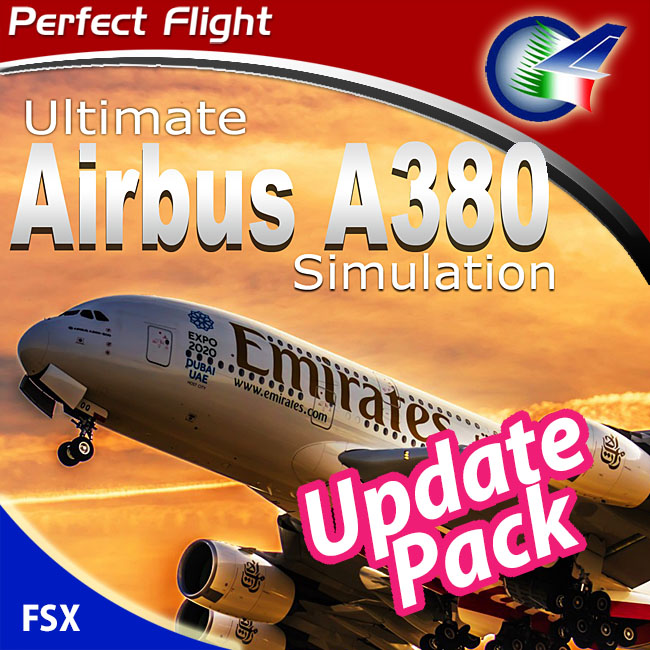 Perfect Flight – Ultimate Airbus A380 Simulation Update Pack