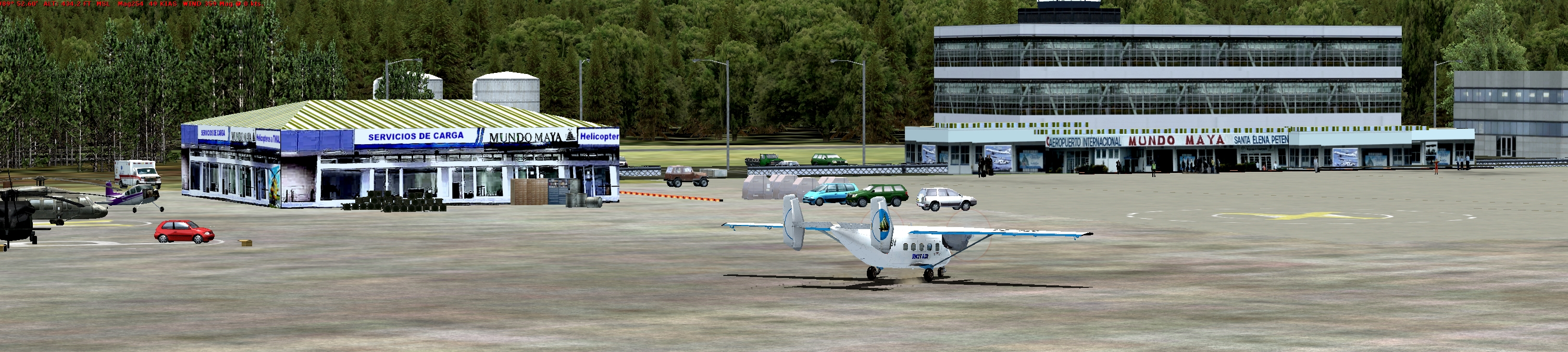 Rolling Cumulus - Guatemala Flights for FSX and P3Dv4