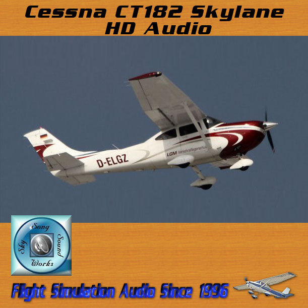 Skysong Soundworks – Cessna CT182 Skylane HD Audio Pack
