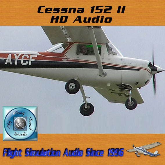 Skysong Soundworks – Cessna 152II HD Audio for FS2004 & FSX